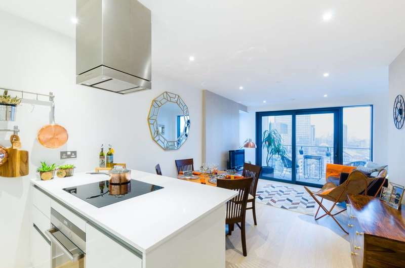 1 Bedroom Flat for sale in Horizons Tower, Canary Wharf, E14