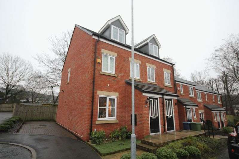 3 Bedrooms Semi Detached House for sale in DYEHOUSE CLOSE, Whitworth, Rochdale OL12 8EA