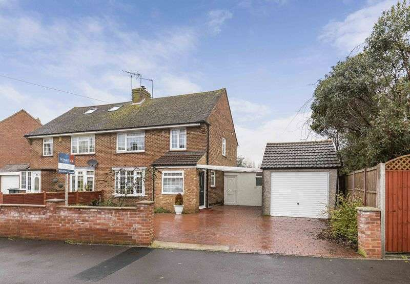 3 Bedrooms Semi Detached House for sale in Bosmere Gardens, Emsworth