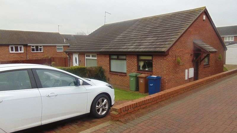 2 Bedrooms Semi Detached Bungalow for sale in Turnberry Close, Usworth Washington