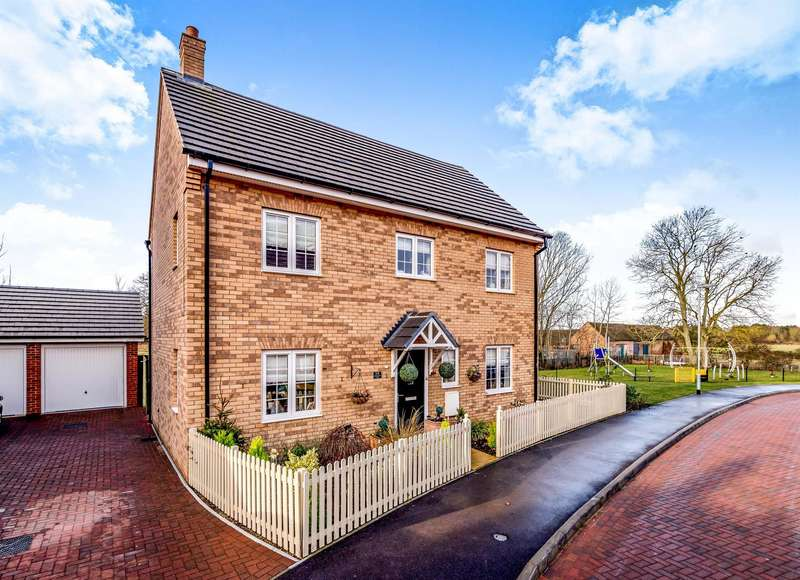 4 Bedrooms Detached House for sale in Chamberlain Way, Shortstown, Bedford, MK42
