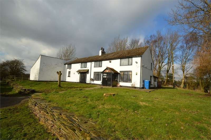 4 Bedrooms Detached House for sale in Cowl Gate Farm, Mode Hill Lane, Whitefield, MANCHESTER, M45
