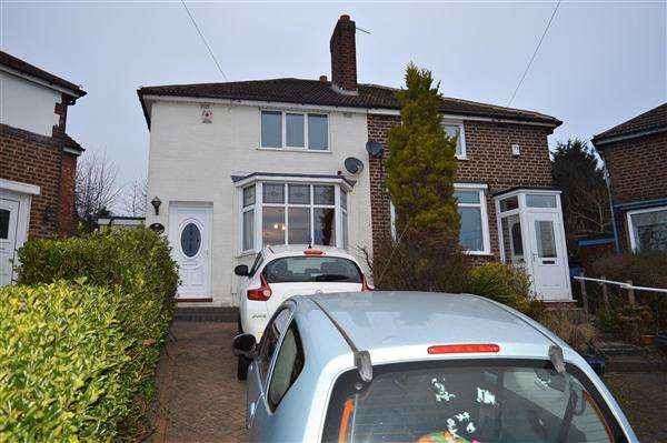 2 Bedrooms Semi Detached House for sale in Melcote Grove, Great Barr, Birmingham