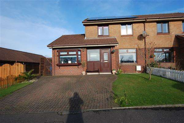 4 Bedrooms Semi Detached House for sale in South Isle Road, Ardrossan