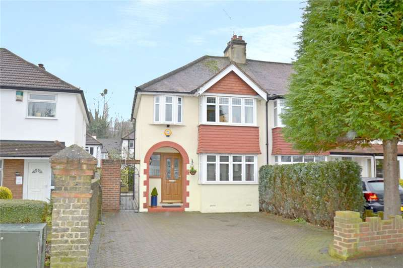3 Bedrooms End Of Terrace House for sale in Whytecliffe Road North, Purley