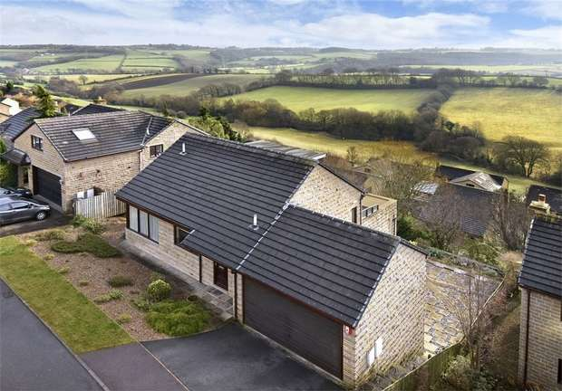 4 Bedrooms Detached House for sale in Daleside, Thornhill Edge, DEWSBURY, West Yorkshire