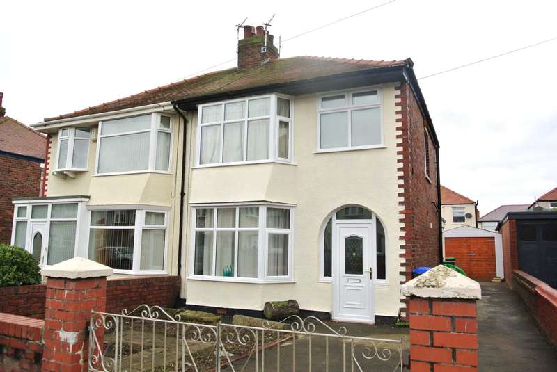 3 Bedrooms Semi Detached House for sale in Wycombe Avenue, Blackpool, FY4 1LU