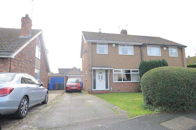 3 Bedrooms Semi Detached House for sale in Westwick, Hedon, Hull, HU12 8HQ