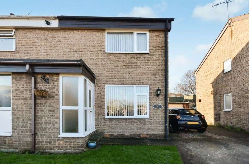 2 Bedrooms Semi Detached House for sale in 7 Church Close, Renishaw, Sheffield, S21 3WP