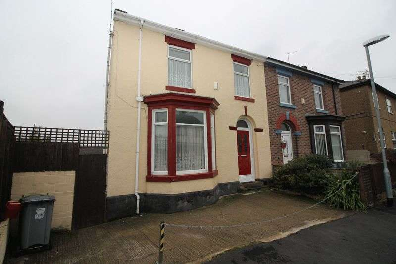 4 Bedrooms Semi Detached House for sale in Dingle Road, Birkenhead