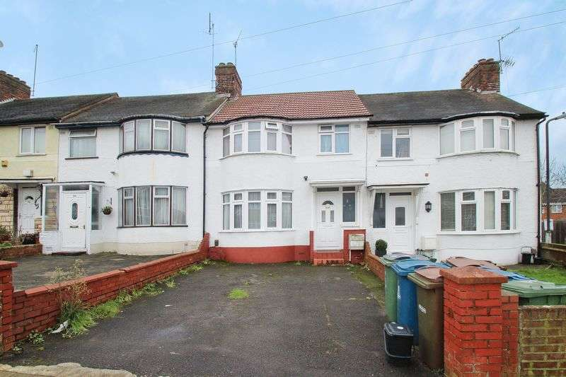 3 Bedrooms Terraced House for sale in Dudley Road, South Harrow