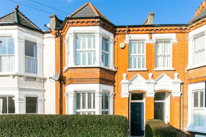 4 Bedrooms Terraced House for sale in Rudloe Road, London, SW12