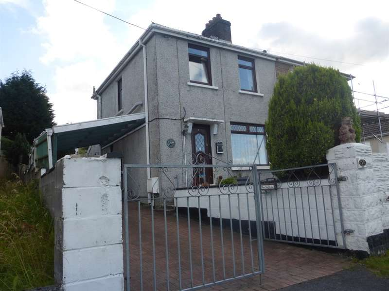 3 Bedrooms Semi Detached House for sale in Main Road, Dyffryn Cellwen, Neath