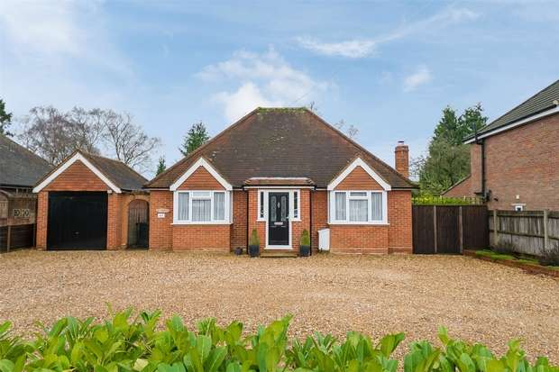 3 Bedrooms Detached Bungalow for sale in Joiners Lane, Chalfont St Peter, Buckinghamshire