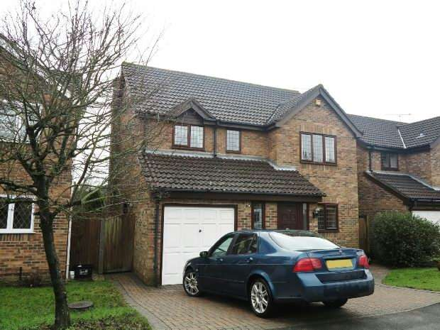 4 Bedrooms Detached House for sale in Swepstone Close, Lower Earley, Reading,