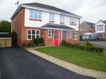 3 Bedrooms Semi Detached House for sale in Millbrook Close, Winsford, Cheshire, CW7