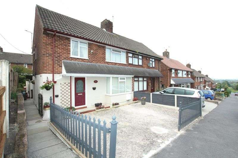 3 Bedrooms Semi Detached House for sale in Moorland Road, Biddulph