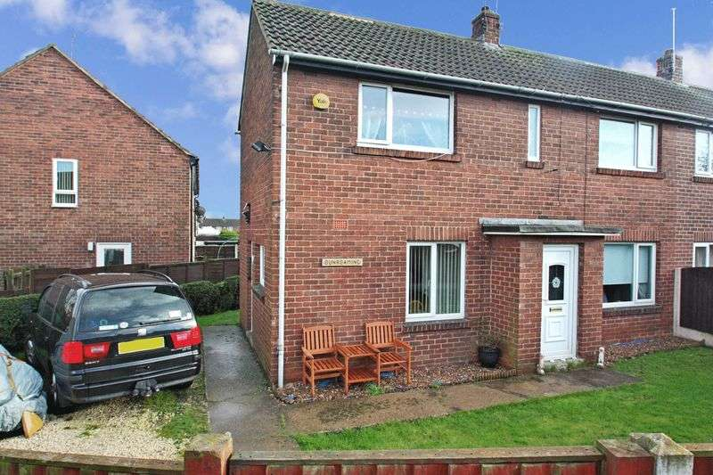 2 Bedrooms Semi Detached House for sale in Springfields, Knottingley