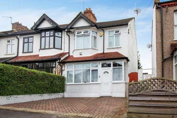4 Bedrooms End Of Terrace House for sale in Burlington Road, Thornton Heath, CR7