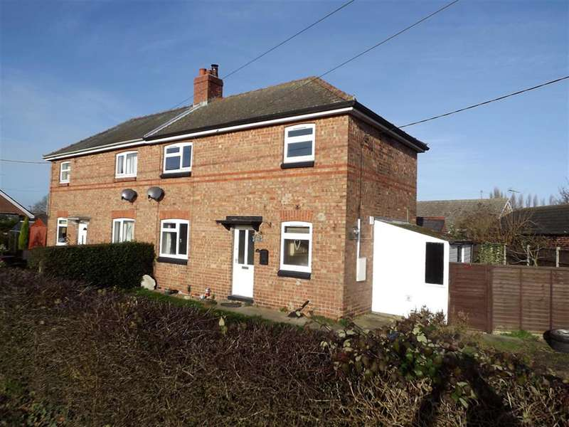 3 Bedrooms Semi Detached House for sale in Park Lane, Billinghay, Lincoln, Lincolnshire