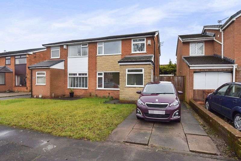 3 Bedrooms Semi Detached House for sale in Castle Croft, Harwood, Bolton
