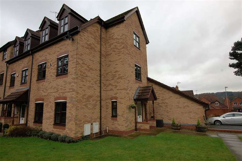 4 Bedrooms Town House for sale in Stream Road, Wordsley, DY8 5QU