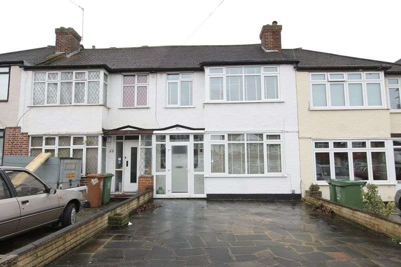 3 Bedrooms Terraced House for sale in Chertsey Drive, Cheam