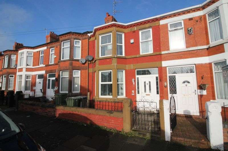 3 Bedrooms Terraced House for sale in Temple Road, Prenton
