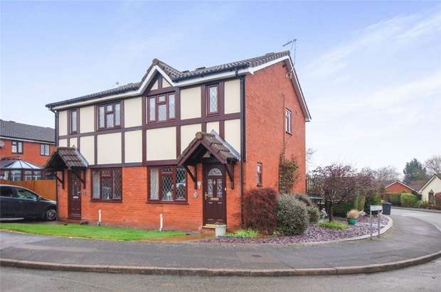 2 Bedrooms Semi Detached House for sale in 6 Beaconsfield, BRIDGNORTH, Shropshire
