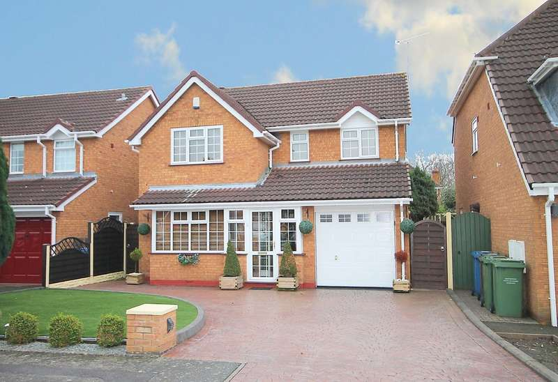 4 Bedrooms Detached House for sale in Northumberland Close, Fazeley, Tamworth, B78 3XL