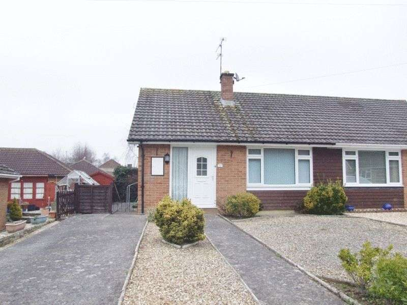2 Bedrooms Semi Detached Bungalow for sale in Lime Tree Avenue, Yeovil
