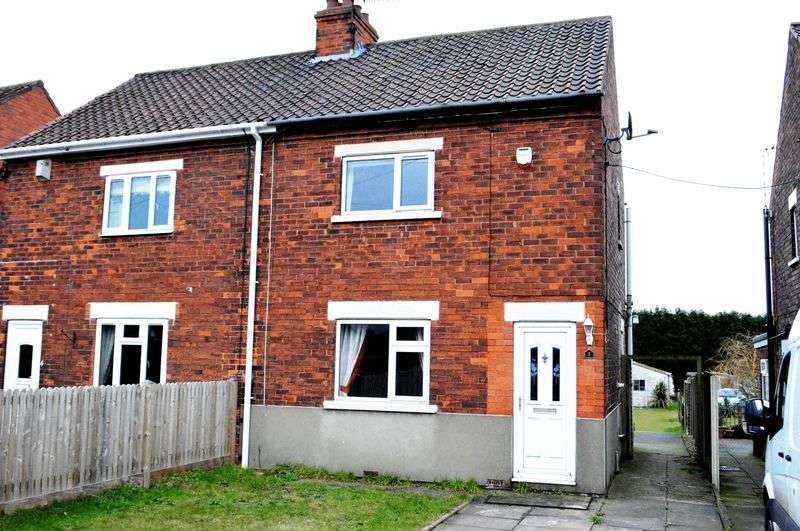 2 Bedrooms Semi Detached House for sale in Brigg Road, Wressle