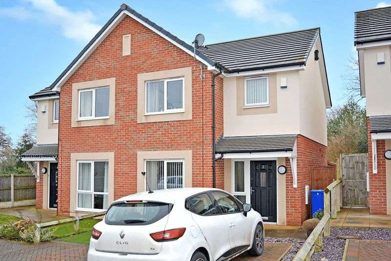 3 Bedrooms Semi Detached House for sale in Priory Green, Norton