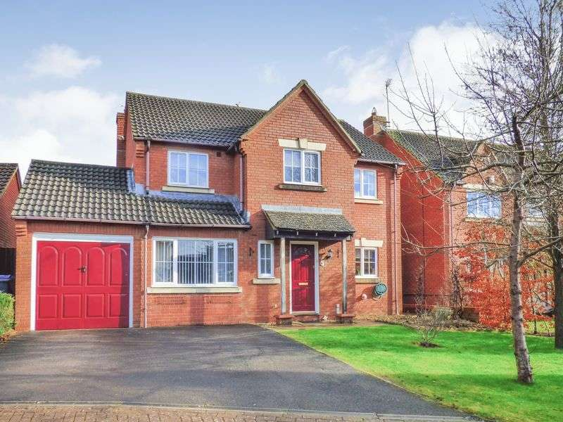 4 Bedrooms Detached House for sale in Lacock Gardens, Hilperton