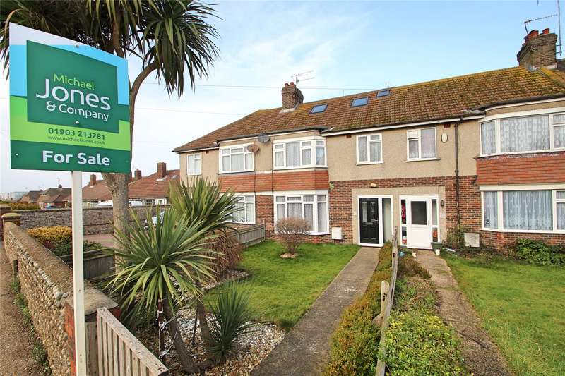 4 Bedrooms Terraced House for sale in Brougham Road, Worthing, West Sussex, BN11
