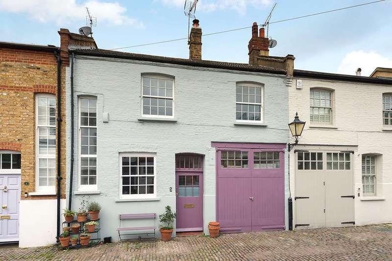 3 Bedrooms Mews House for sale in Kersley Mews, London, SW11
