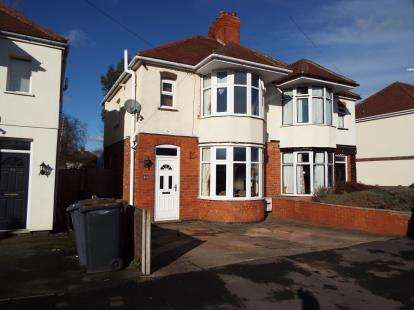 Semi Detached House for sale in Carisbrook Road, Nuneaton, Warwickshire