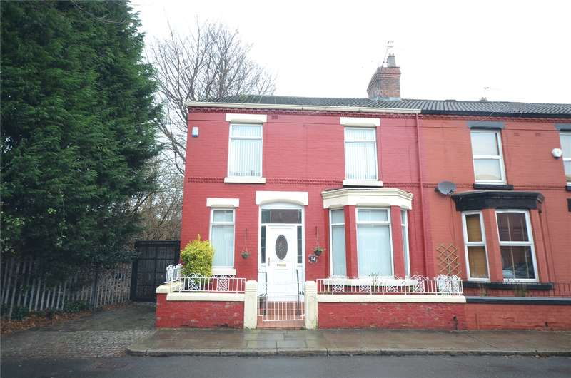 3 Bedrooms End Of Terrace House for sale in Balcarres Avenue, Mossley Hill, Liverpool, L18