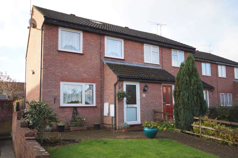 3 Bedrooms End Of Terrace House for sale in Sunbury Close, Bordon, Hampshire, GU35