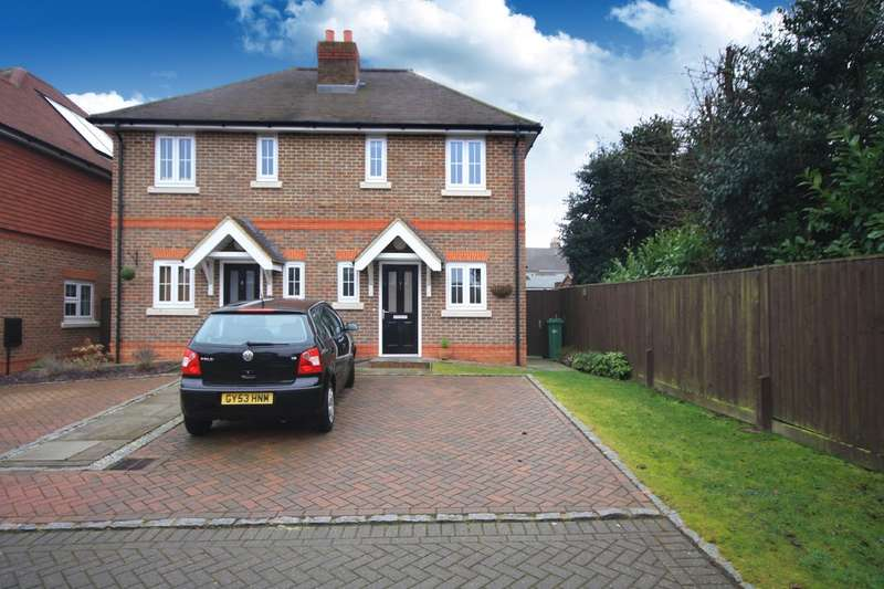 2 Bedrooms Semi Detached House for sale in The Hollies, Rusper Road