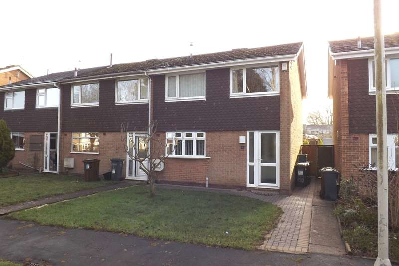 3 Bedrooms End Of Terrace House for sale in Walsgrave Drive, Solihull