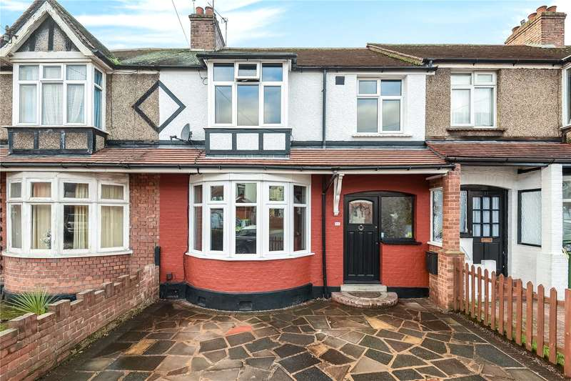 3 Bedrooms Terraced House for sale in Parkfield Avenue, Hillingdon, Uxbridge, Middlesex, UB10