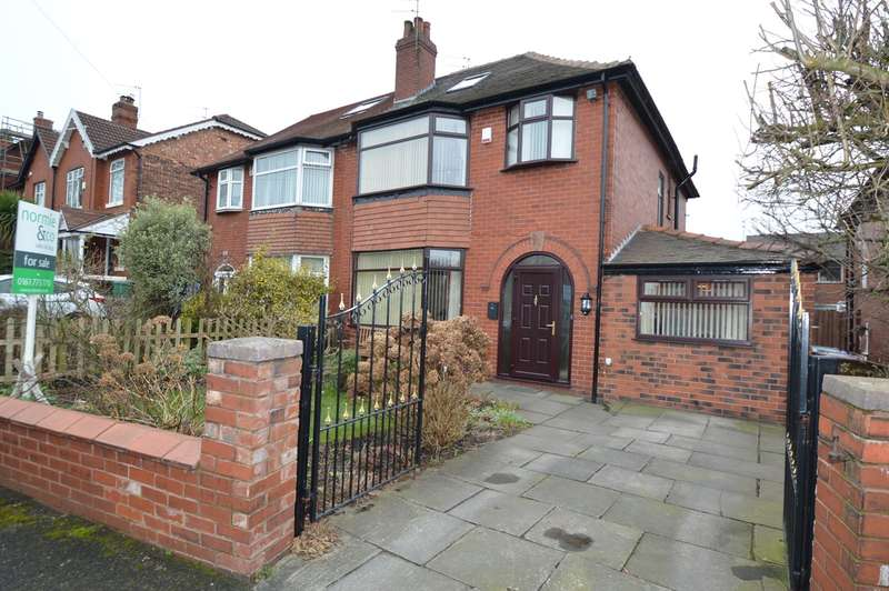 4 Bedrooms Semi Detached House for sale in Glebelands Road, Prestwich, Manchester, M25