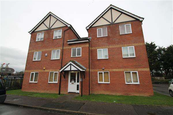 1 Bedroom Apartment Flat for sale in Foxglove Way
