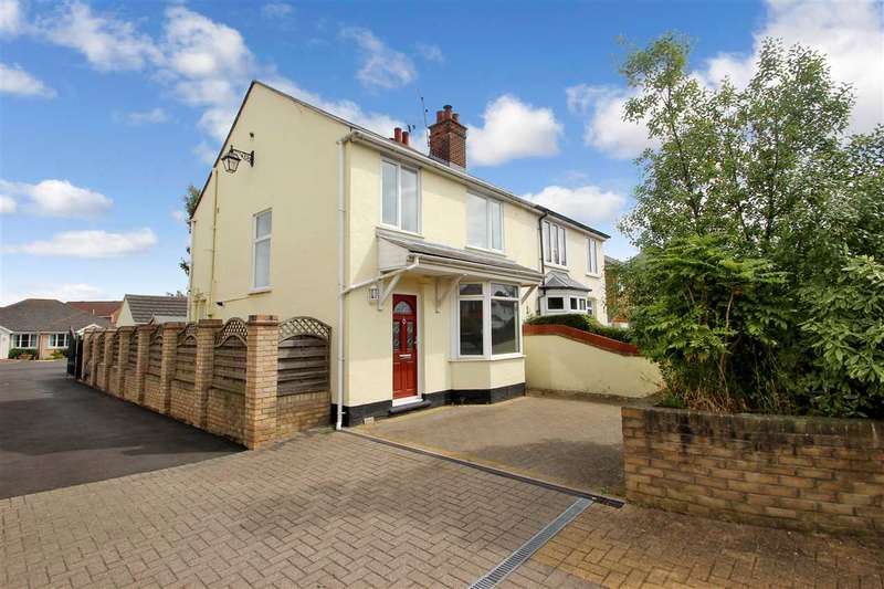 3 Bedrooms Semi Detached House for sale in Mersea Road, Colchester