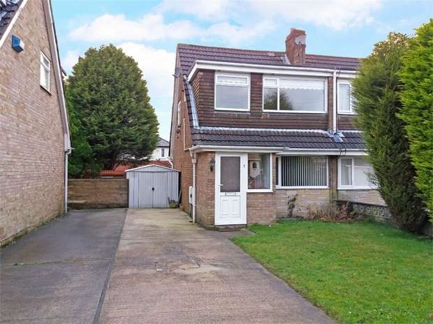 3 Bedrooms Semi Detached House for sale in Crediton Close, Blackburn, Lancashire