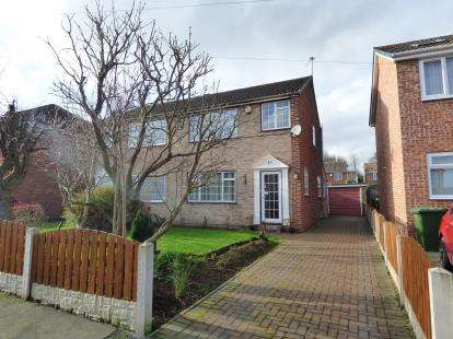 3 Bedrooms Semi Detached House for sale in Manor Rise, Walton, Wakefield, West Yorkshire