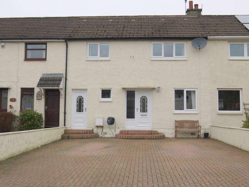 3 Bedrooms Terraced House for sale in Adamton Estate, Monkton, Prestwick, KA9