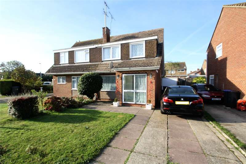 3 Bedrooms Semi Detached House for sale in Boxgrove, Goring By Sea, Worthing, BN12