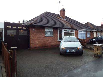 2 Bedrooms Bungalow for sale in Spencer Avenue, Thurmaston, Leicester, Leicestershire
